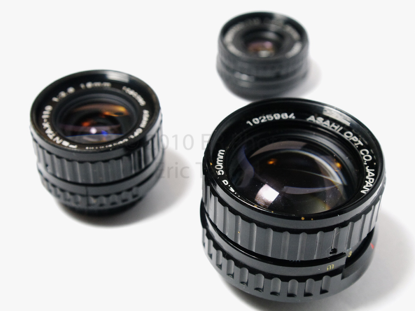 , Pentax 110 – 18mm, 24mm, 50mm, and 70mm f/2.8 on MFT