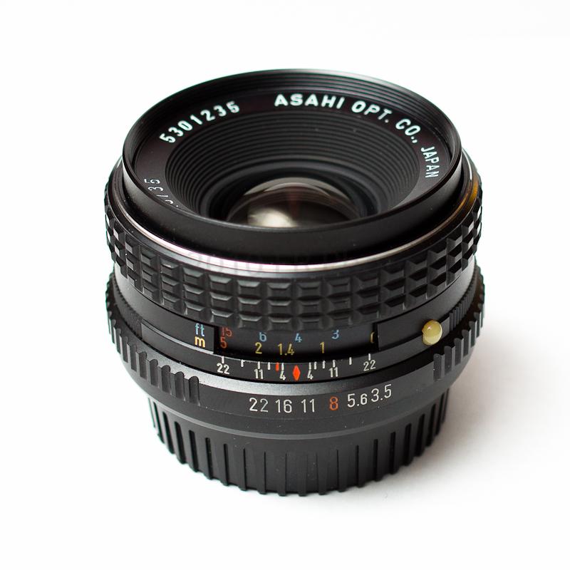 SMC Pentax-K 35mm f/3.5