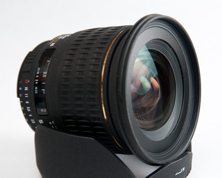 , Sigma 20mm f/1.8 EX DG