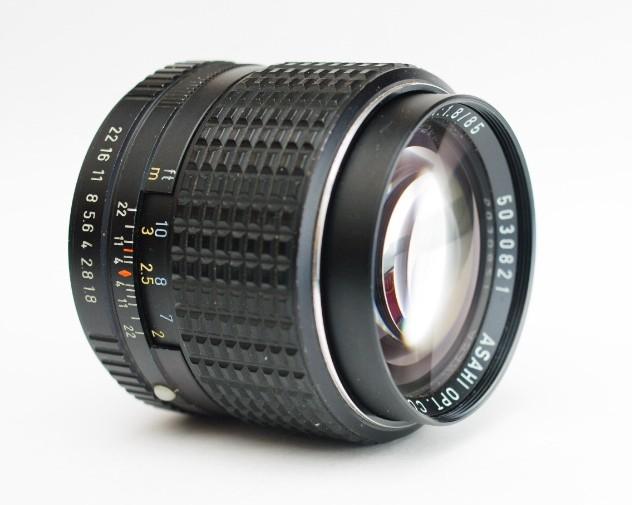 , SMC Pentax K 85mm f/1.8