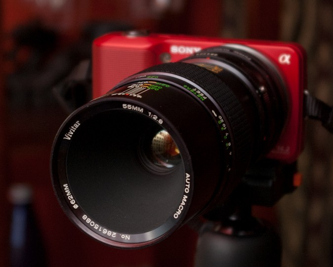 , Vivitar 55mm f/2.8 Macro (Komine)
