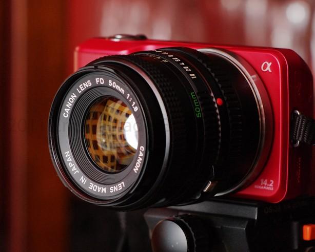 , Canon 50mm f/1.8 FD